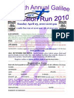 2010 Mission Run Flyer