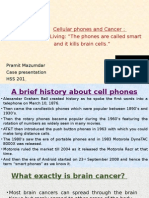 cellular phones and cancer