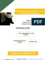 Modelos Explicativos de La Conducta Anormal