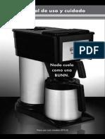 3 Manual Cafetera Bunn a-10sereies m#2