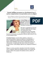 Poynter Institute presentará en #PerDebate15 las 37 nuevas competencias de un periodista en la era digital
