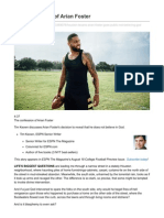 the confession of arian foster  1