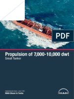Propulsion of 7 000-10-000 Dwt Small Tanker