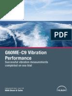 Successful Vibration Performance g60me c9