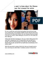 Here Every Detail of the Twisted Sheena Bora Murder Case and Indrani Mukerjea That You Want to Know