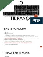 1 O Existencialismo e Sua Heranþa
