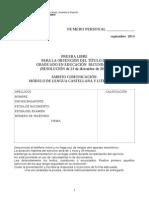 Pruebas Libres Sept 2014 Lengua Criterios de Corrección