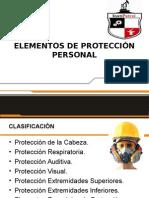 2. Elementos de Protección Personal