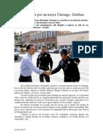 23.08.2014 Comunicado Trabajamos Por Un Durango Mejor