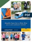 Baptist Community Report 2014-2015
