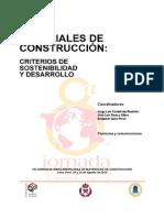Materiales de construcción criterios de sostenibilidad y desarrollo.pdf