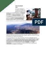 Primeras Ciudades de El Salvador