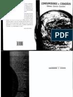 250286013 CANCLINI Nestor G Consumidores e Cidadaos PDF
