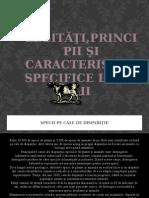 Legități Principii Și Caracteristici Specifice Lumii Vi