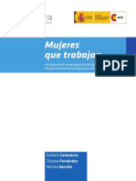 Cuadernillo Mujeres Que Trabajan -Lolamora