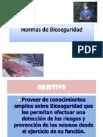 Normas de Bioseguridad