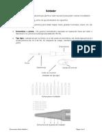4. Soldadura y Montaje de Componentes