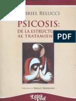 Psicosis. de La Estructura Al Tratamiento - Gabriel Belucci