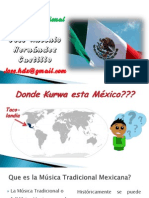 Musica Tradicional Mexicana