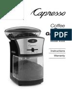 Capresso Coffee Burr Grinder 559