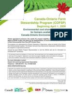 Canada (2009) Canada-Ontario Environmental Farm Plan