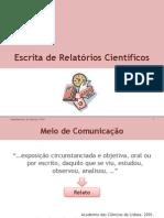 Escrita de Relatórios Científicos