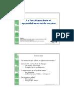 A2 - La Fonction Achats