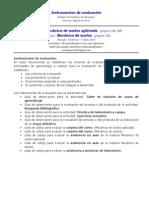 Instrumentos de Evaluación MSA MS 2015A