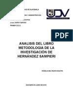 Metodología de La Investigación de Hernández Sampieri