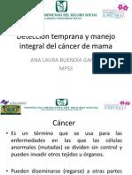 Detección Temprana y Manejo Integral Del Cáncer De