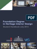 FDA Heritage Interior Design Handbook July 13