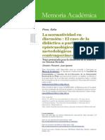 Tesis Normatividad en El Curriculum Sofía Picco