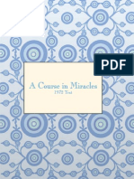 A Course in Miracles Text - 1972 edition