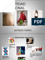 identidad personal Fierro, Alfredo (1997).ppt
