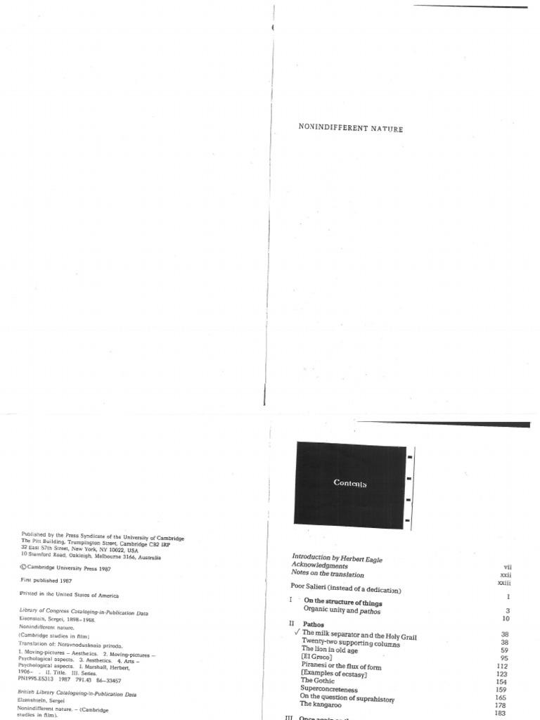 3787e0fe4 Eisenstein - El Filme y la estructura de las cosas | Fiction & Literature