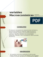 Variables Macroeconómicas Peru