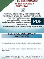 El Ser Humano Como Ser Social y Cultural Clase