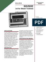 505-505E Digital Control for Steam Turbines.pdf