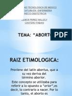 aborto gineco
