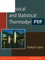 Classical and Statistical Thermodynamics, Carter