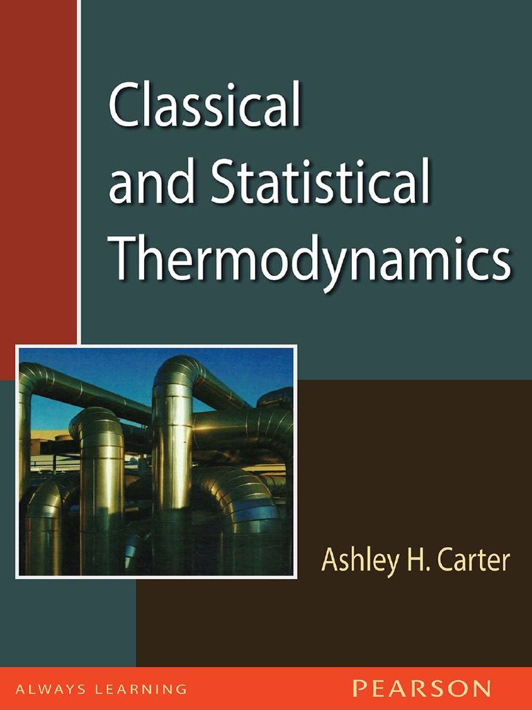 Classical and statistical thermodynamics carter second law of classical and statistical thermodynamics carter second law of thermodynamics thermodynamics fandeluxe Gallery
