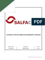 800704-CIV-P-001 Construcción de Obras de Hormigón - SALFACORP