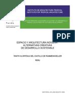 Espacio y Arquitectura Indigenas