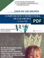 Composición y Estructura de Los Grupos