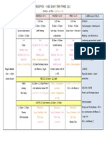 t3 - w8 timetable