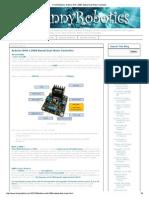 FunnyRobotics_ Arduino With L298N Based Dual Motor Controller