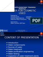 Gmp Supplementary Water