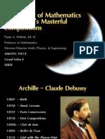 Debussy Mathematics