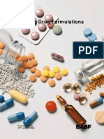 Generic Drug Formulation 2nd Edition 1998
