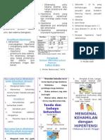 Leaflet Kehamilan Dengan Hipertensi
